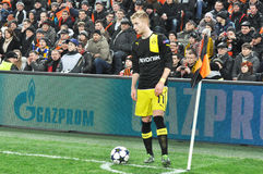 Marco Reus corner kicks Stock Image