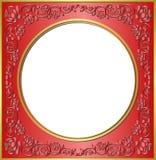 Marco rojo Foto de archivo libre de regalías