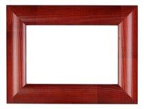 Marco rojo de la foto Fotografía de archivo libre de regalías