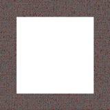 Marco rojo de la textura Foto de archivo