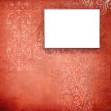 Marco rojo del terciopelo Foto de archivo libre de regalías