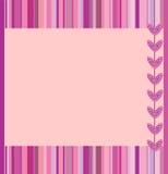 Marco rosado Imagen de archivo libre de regalías