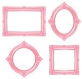 Marco rosado Fotos de archivo libres de regalías