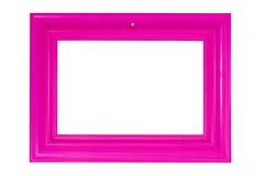 Marco rosado brillante de la foto Fotografía de archivo libre de regalías