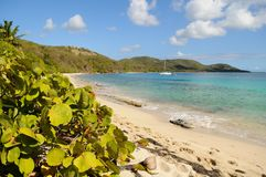 Marco Rosario Beach. Culebra, Puerto Rico Royalty Free Stock Photography