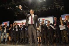 Marco Rubio Holds Campaign Rally at Texas Station, Dallas Ballroom, North Las Vegas, NV. Stock Photos