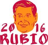 Marco Rubio President 2016 retro Foto de Stock
