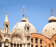 marco SAN Βενετία της Ιταλίας κα&t Λεπτομέρεια στεγών Στοκ Εικόνες