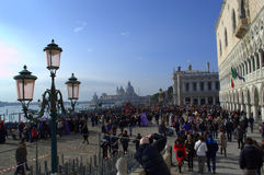 marco SAN τετραγωνική Βενετία Στοκ Εικόνες