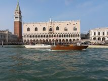 Marco san аркады Венеции Стоковое Изображение