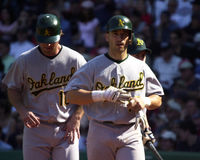 Marco Scutaro, Oakland A's Royalty Free Stock Images