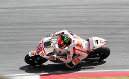 Marco Simoncelli di San Carlo Honda Gresini Fotografia Stock