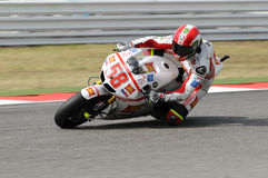 Marco Simoncelli HONDA MotoGP 2011 Stock Image