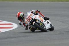 Marco simoncelli, knee down, stock photo
