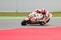 Marco Simoncelli racing Stock Photography