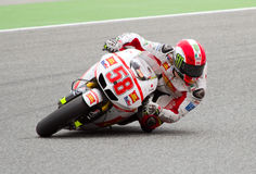 Marco Simoncelli  racing Stock Photo