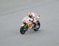 Marco Simoncelli speeding Stock Photography