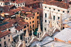 Marco square is the most famous and attractive square in Venice Stock Images