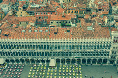 Marco square is the most famous and attractive square in Venice Stock Photography