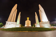 Marco Tailândia de Banguecoque do monumento da democracia Foto de Stock