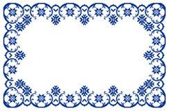Marco tradicional rumano stock de ilustración