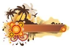 Marco tropical Imagen de archivo libre de regalías