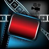 Marco vacío para las películas   Fotos de archivo libres de regalías