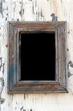 Marco vacío en la pared Imágenes de archivo libres de regalías