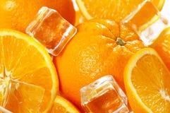 Marco van verse sinaasappelen Stock Foto's