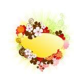 Marco/vector/resorte florales ilustración del vector