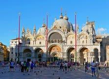 Marco Venecia de san de la plaza foto de archivo libre de regalías