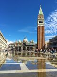 Marco Venise Italie de Piazza San photographie stock libre de droits