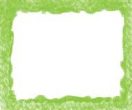 Marco verde Foto de archivo libre de regalías