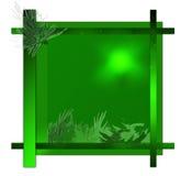 Marco verde Fotos de archivo libres de regalías