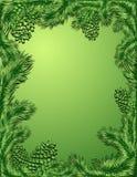 Marco verde ilustración del vector
