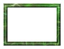 Marco verde Fotos de archivo