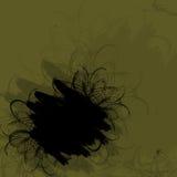 Marco verde del grunge Imagen de archivo libre de regalías