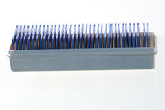 Marcos 2 del azul Fotos de archivo libres de regalías