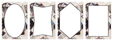 Marcos abstractos Fotografía de archivo libre de regalías