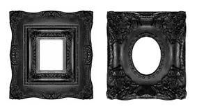 Marcos adornados de la vendimia Imágenes de archivo libres de regalías