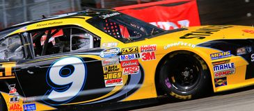 Marcos Ambrose ford racing Royalty Free Stock Photo