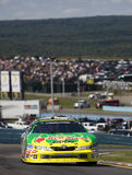 Marcos Ambrose on track Stock Image