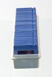 Marcos azules Foto de archivo