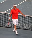 Marcos Baghdatis (CYP), tennis player. Marcos Baghdatis (CYP) during match at the China Open Tennis Tournament 2009 Royalty Free Stock Photo