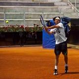 D'Italia van Marcos Baghdatis - van Internazionali BNL Stock Foto