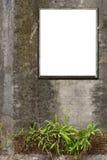Marcos blancos de la lona Imagen de archivo libre de regalías