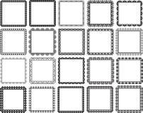 Marcos cuadrados Fotos de archivo