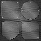 Marcos de cristal Fotos de archivo