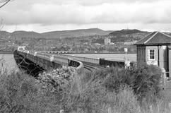 Marcos de Escócia - Tay Bridge imagens de stock