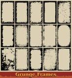 Marcos de Grunge Imagen de archivo libre de regalías